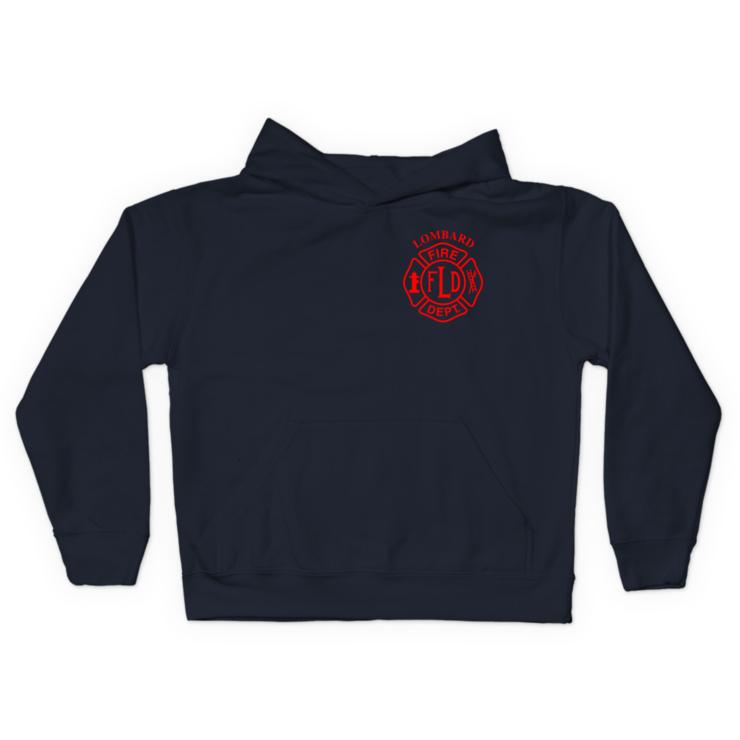 LFD Badge (Red) Pullover Hoodie