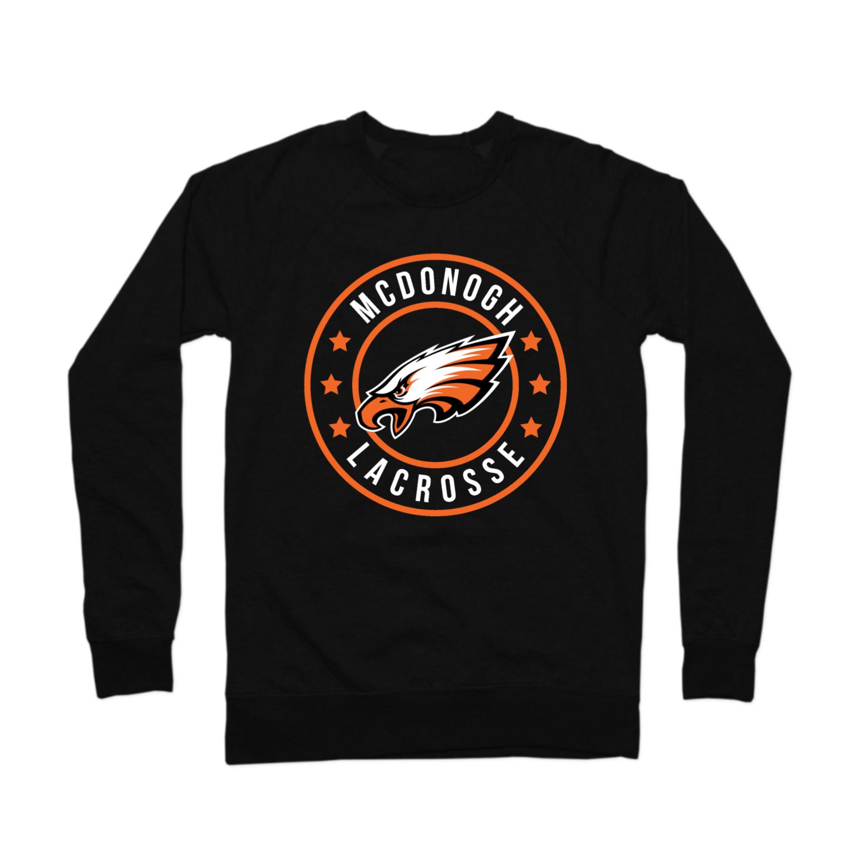 McDonogh Lax Badge Crewneck Sweatshirt