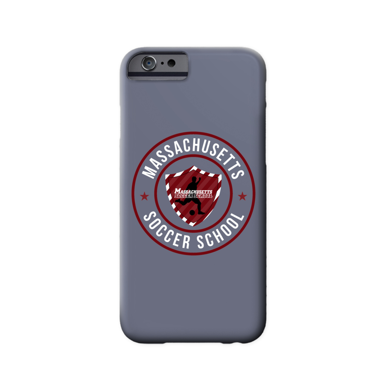 Massachusetts Soccer School Phone Case