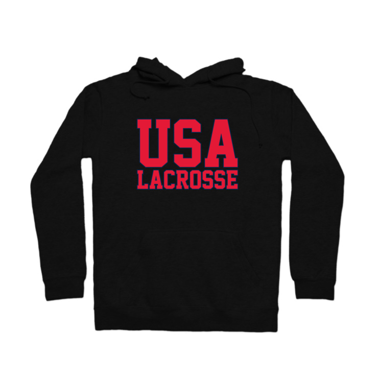 USA Lacrosse Pullover Hoodie