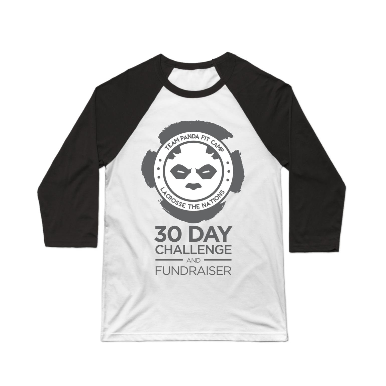 30 Day Challenge Baseball Tee